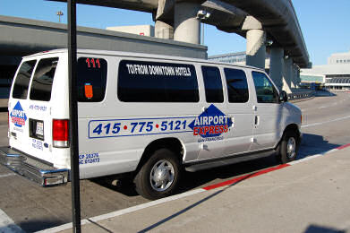 SFO Airporter Shuttle