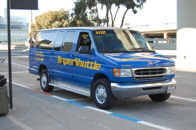 Super Shuttle SFO Airport
